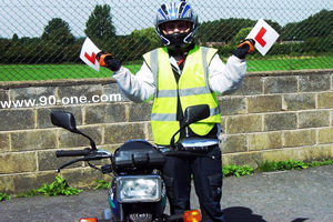 Passed your 125cc motorcycle Test. No more L-Plates, carry passengers and use motorways