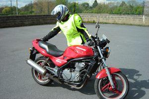 Manual Handling Of A Bigger Bike On Big Refresher Course